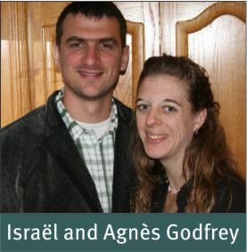 People - Godfrey, Israel and Agnes