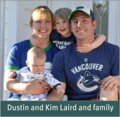 People - Laird, Dustin and Kim