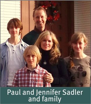 People - Sadler, Paul and Jennifer 2013