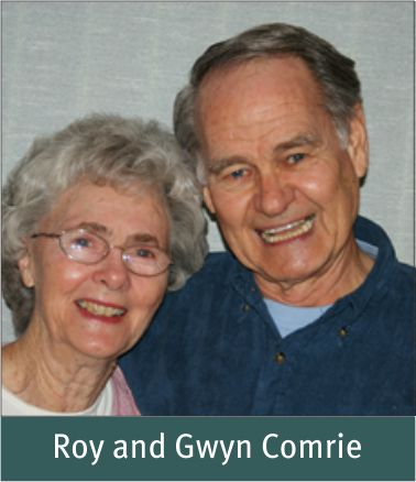 Winter 2014 - Comrie, Roy and Gwyn